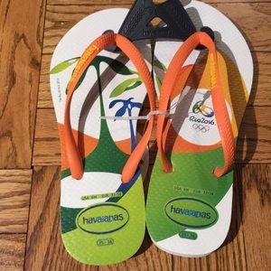 NWT Havaianas Rio Flip Flops 6